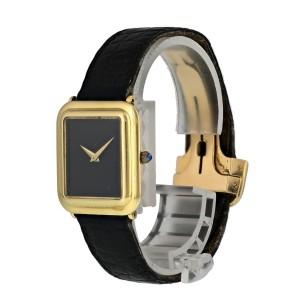 Cartier 18K Yellow Gold Vintage Ladies Watch