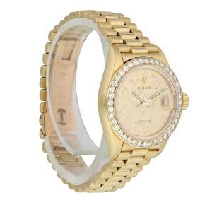 Rolex Datejust  Pleiade Dial 69138 Ladies Watch