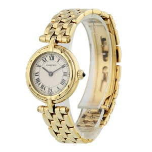 Cartier cougar Panthere Yellow Gold Ladies Watch