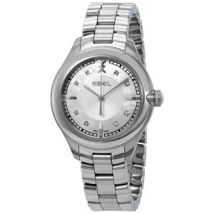 BRAND NEW LADIES ONDE 1216136 MOTHER OF PEARL DIAMOND SWISS QUARTZ WATCH