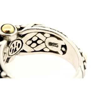 John Hardy Jaisalmer Pearl Ring 18k Gold Sterling Silver size 5.75