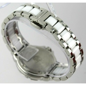 TAG HEUER  FORMULA 1 WAH1215.BA0861 DIAMOND BEZEL CERAMIC & STEEL LUXURY WATCH