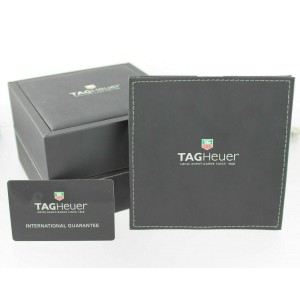 TAG HEUER AQUARACER CAF2010.BA0815 AUTOMATIC CHRONOGRAPH BLACK DAY DATE WATCH