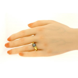 1994 Cartier Tahitian Pearl Ring 18k Gold size ~5.5