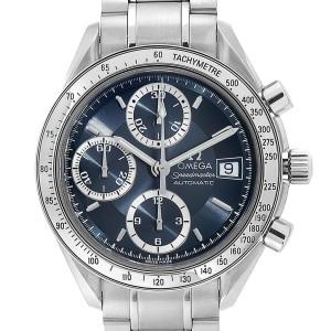 Omega Speedmaster Date Blue Grey Dial Mens Watch 3513.46.00