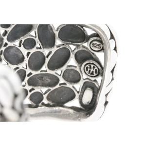 John Hardy Kali Overlap Cuff Bracelet Bangle Sterling Silver Wide Large
