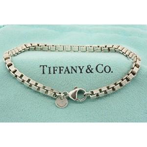 """Tiffany & Co. Venetian Box Chain Link Bracelet 7.5"""""""