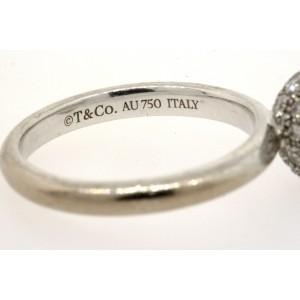 Tiffany & Co. Hardwear Diamond Ball Ring 1.08ct $5300 size 5