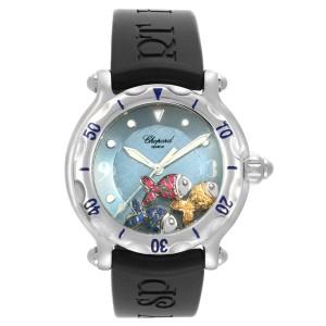 Chopard Happy Beach Floating Rubi Sapphire Fish Ladies Watch 288347