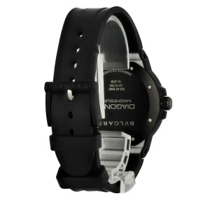 Bvlgari Diagono Magnesium DG 41 SMC Men's Watch Box Papers