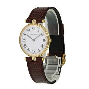 Cartier Paris Tri-color 18k Gold Ladies Watch