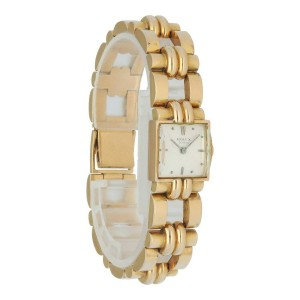 Rolex Vintage Square Dome Rose Gold Watch
