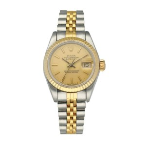 Rolex Datejust 69173 Ladies Watch Box & Papers