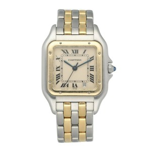 Cartier Panthere 183949 Two Row Midsize Ladies Watch