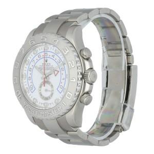 Rolex Men's 116689 18k White Gold Rolex Yacht - Master II Watch