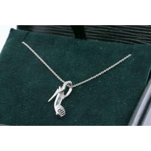 Roberto Coin High Heel Diamond Pendant Necklace Tiny Treasures 18k Gold Shoe