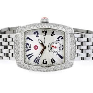 Michele Mini Urban Diamond Watch & $700 Upgraded Diamond Bracelet Ladies