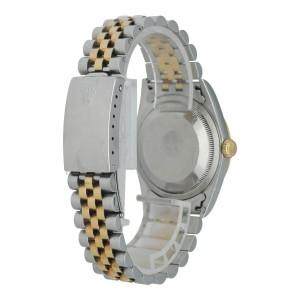 Rolex Datejust 16233 Diamond Dial Mens Watch