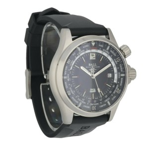Ball Engineer Master II DG2022A-P3A-BK World Time Men's Watch Box Papers
