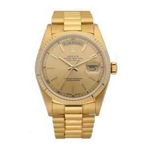 Rolex Day Date 18038 President Men's Watch
