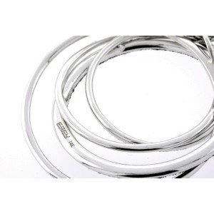 "Effy Caviar Diamond Circles Pendant Necklace Black White 14k Gold 16"" Chain"
