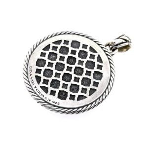 David Yurman Labyrinth Necklace Pendant Charm Enhancer Large 2