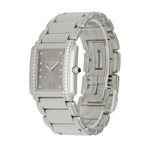 Patek Philippe Twenty-4  4910 Stainless Steel Diamond Dial Ladies Watch