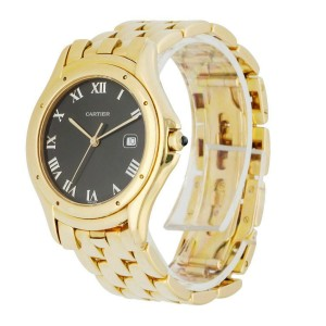 Cartier Cougar Panthere 116000R Large Yellow Gold Watch