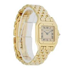 Cartier Panthere 18K Yellow Gold Small Ladies Watch