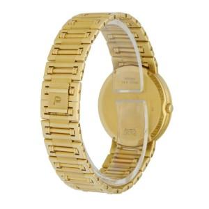 Piaget Dancer 84023 K81 Onyx Diamond Dial 18K Yellow Gold Ladies Watch