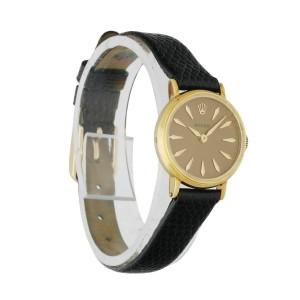 Rolex Vintage 14K Yellow Gold Ladies Watch