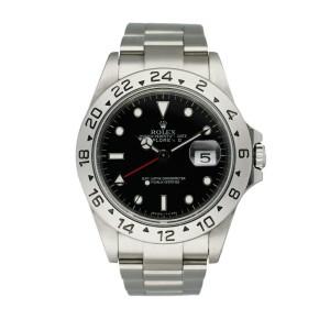 Rolex Explorer II 16570  Men's Watch Box & Papers