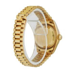 Rolex Datejust President 69268 Diamond Bezel and Dial Ladies Watch