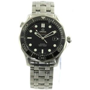 OMEGA SEAMASTER 212.30.41.20.01.003 CO-AXIAL CHRONOMETER BLACK CERAMIC MEN WATCH