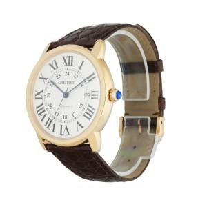 Cartier Ronde Solo W6701009(3516) 18K Rose Gold XL Men's Watch