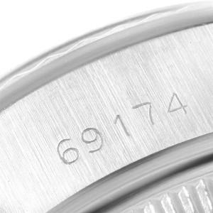 Rolex Datejust 26mm Steel White Gold Silver Dial Ladies Watch 69174