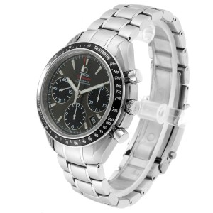 Omega Speedmaster Day Date Gray Dial Watch 323.30.40.40.06.00