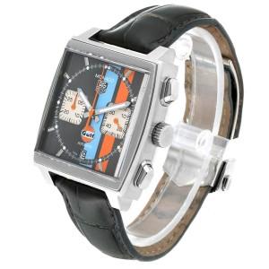Tag Heuer Monaco Gulf Calibre 12 Chronograph Mens Watch CAW2113