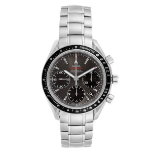 Omega Speedmaster Day Date Grey Dial Watch