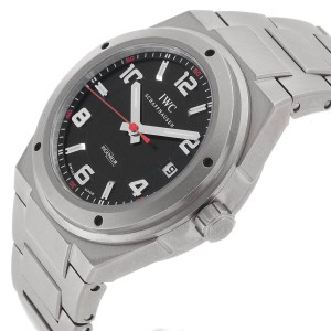 IWC Ingenieur AMG Titanium Black Dial Automatic Mens Watch IW322702