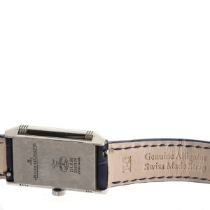 Jaeger-LeCoultre Reverso Classic Manual Watch Stainless Steel and Alligator Small