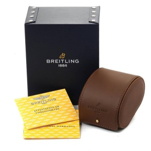 Breitling Navitimer Fighter Yellow Gold LE Mens Watch H13330 Box Papers