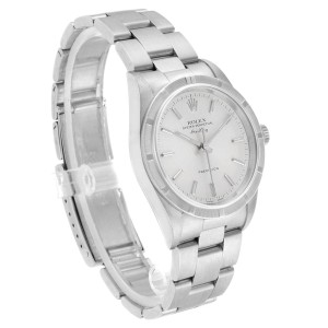 Rolex Air King 34 Oyster Bracelet Steel Automatic Mens Watch 14010