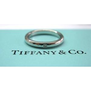 Tiffany & Co Platinum Elsa Peretti Diamond Ring