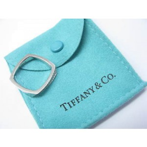 Tiffany & Co. 18K White Gold Frank Gehry Torque Diamond Ring