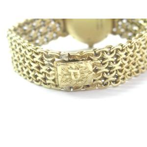 Piaget 18K Womens Malachite Dial Yellow Gold Quartz Watch