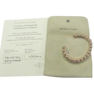 Van Cleef & Arpels Perlee 18K Rose Gold Cuff Bracelet