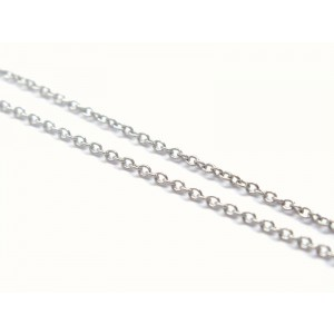 Tiffany & Co. Elsa Peretti Platinum & Diamond Teardrop Pendant Necklace