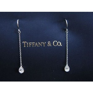 Tiffany & Co. Elsa Peretti Platinum & Diamond By Yard Earrings