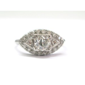 950 Platinum & Diamond Engagement Ring